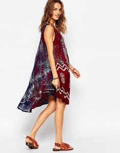 Image 2 of Anmol Umbrella Beach Dress