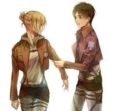 Annie and Eren - Attack On Titan