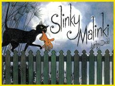 Slinky Malinki by Lynley Dodd. I love sharing all of Lynley Dodd's wonderful animal books at storytime! Hairy Maclary is of course another fave, but I love the silky sibilant language of Slinky Malinki Great Books, My Books, Blacker Than Black, Bad Cats, Children's Picture Books, Book Authors, Love Book, The Guardian, So Little Time