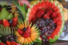 Fruit Display | Vintage Villas Hotel & Events