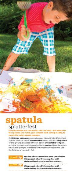 Spatula splatterfest
