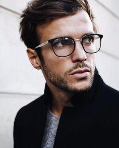 "32596db24b Hugo Philip on Instagram: ""Mentally somewhere else w/ @gant  @marcolin_eyewear #GantEyewear"". Lentes Hombre, Anteojos, Hombres ..."