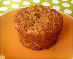 Muffins aux flocons d'avoine et pommes  | chefNini