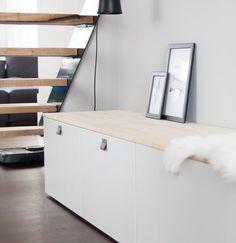 Magischer Stauraum – 10 kreative Ikea-Hacks für mehr Ordnung in deinem Zuhause | SoLebIch.de Foto: Sori writes #solebich # einrichtung #wohnen #wohnideen #inspiration #dekoration #deko #Interior #interiordecor #Ikea #hack #skandi #diy #flur