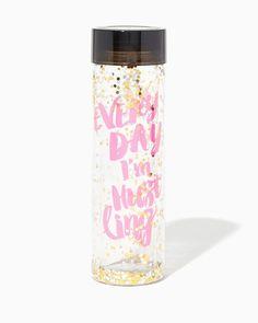 charming charlie   Every Day I'm Hustling Water Bottle   UPC: 400000272191…