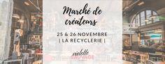 Marché de créateurs Violette Sauvage à la REcyclerie November 25 - November 26