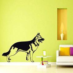 Wall Decals German Shepherd Dog Decal Vinyl Sticker Dog G...