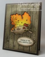 Autumn Leaf card video (Dawns stamping thoughts Stampin'Up! Demonstrator Stamping Videos Stamp Workshop Classes Scissor Charms Paper Crafts)