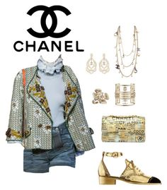 """""""#51"""" by viictoriam ❤ liked on Polyvore featuring Chanel"""