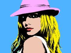 Brit Warhol style**