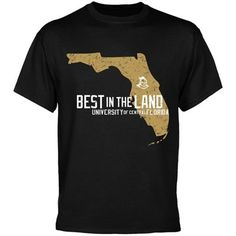 UCF Knights Black Best in the Land T-shirt