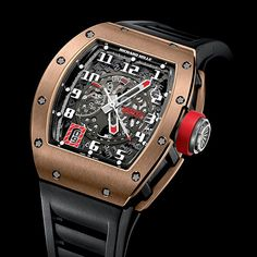 Richard Mille RM030 Black Rose