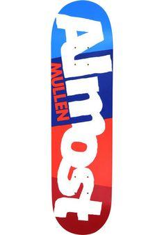 ALMOST  Mullen C-Block R7, #Deck #skate #skateboards #rodney #mullen #almost #titus #skateboarding