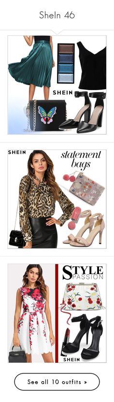 """SheIn 46"" by goldenhour ❤ liked on Polyvore featuring ADAM, Clé de Peau Beauté, NYX, LunatiCK Cosmetic Labs, Rituel de Fille, Pat McGrath, men's fashion and menswear"