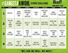 16 images of body beast workout calendar. Workout Calendar, Workout Schedule, Gym Workouts, Workout Plans, Body Beast, Lean Muscle Workout Plan, Beast Workout, After Life, Total Body