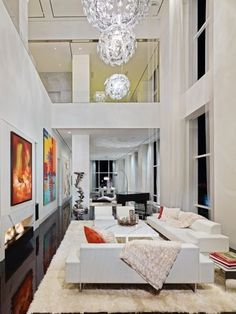 49 Photos Inside a Billionaire's Totally Bonkers NYC Penthouse   Curbed NY