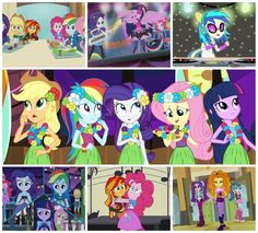We saw My Little Pony Equestria Girls Rainbow Rocks this weekend!