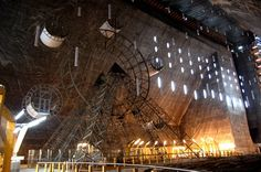 Turda Salt Mine in Transylvania (Salina Turda)
