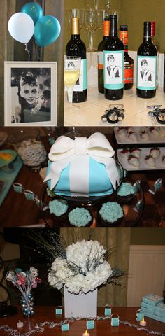 Breakfast at Tiffany's-themed party for a friend!!!