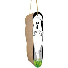 Scratch 'n Shapes Ghost, Hanging Scratcher - BD Luxe Dogs & Supplies