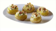 Get this all-star, easy-to-follow Mini Twice-Baked Potatoes recipe from Giada De Laurentiis