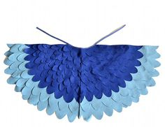 Childrens Bird Costume Wings, Blue Parrot Wings Kids Dress up Toy, Girls and Boys, Toddlers. via Etsy. Book Day Costumes, Dress Up Costumes, Dance Costumes, Costume Ideas, Bird Costume, Costume Wings, Parrot Costume, Halloween Wings, Halloween 2014
