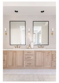 Bad Inspiration, Bathroom Inspiration, Bathroom Renos, Bathroom Ideas, Oak Bathroom Cabinets, Warm Bathroom, Bathroom Vanities, Bathroom Remodeling, Bathroom Vanity Designs