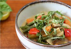 This recipe is so good, even Simon liked it and he is a seriously tough green curry judge. You must make this. No, seriously, stop reading Pinterest and go make it!