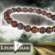 🌪️ Lélekvihar - prémium ásvány karkötő viharkővel és rozsdamentes acéllal Bracelets, Jewelry, Bangle Bracelets, Jewellery Making, Jewerly, Jewelery, Jewels, Bracelet, Jewlery