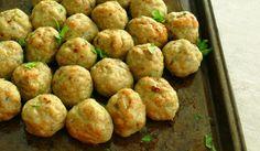 Baked Chicken Avocado Meatballs