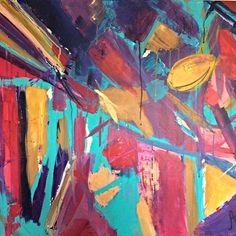 'Community Roots' - acrylics on canvas - using nature and recycled resources to build a community #abstract #abstractart #abstracttrees #forest #buildingroots #inspiredbynature #natureart #canvas #artforsalebyartist #contemporaryart #healingart #spiritualart #vibrantart #upliftingart #flowerart #artwithamessage #abstractartist #abstractartwork #nepalart by mahliaamatina