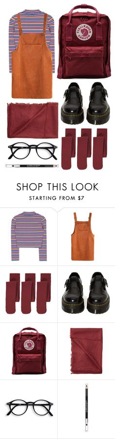 """""""#11"""" by polly-d ❤ liked on Polyvore featuring George, Dr. Martens, Fjällräven, Fendi and The Body Shop"""
