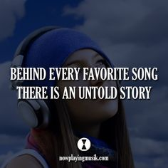 Behind every favorite song there is an untold story. #music #plur #rave #edm #quotes #edmlife #edmfamily #memories