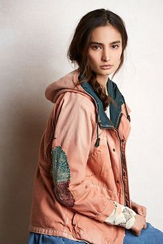Crazy in love with jacket and this designer! Incredible styles! Kapital Clothiers out of japan -Prefecture Jacket #anthropologie