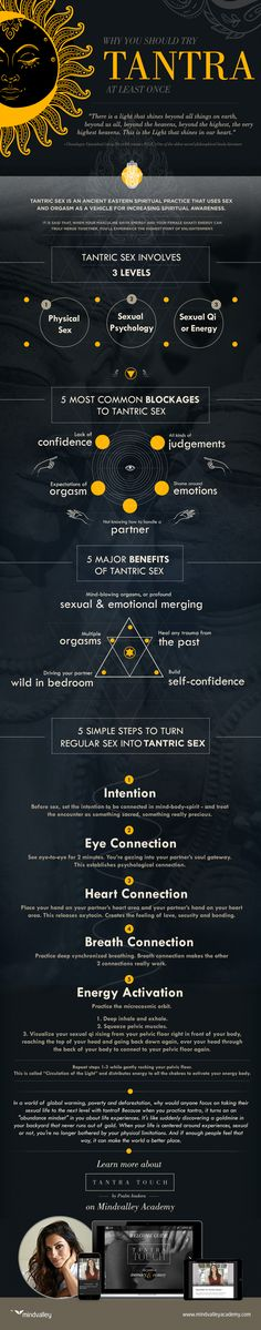 Why You Should Try Tantra At Least Once (Infographic
