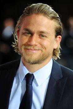 Nobody does smirks quite like Charlie Hunnam.