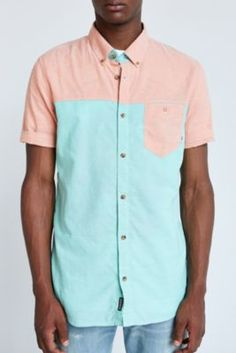 Stussy Wildlife Button-Down Shirt | Printed and Patterned Shirts ...