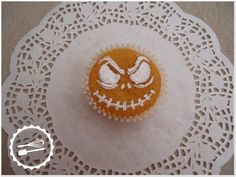 Baunilha Cor-de-Rosa: #Cupcake #jack #nightmarebeforechristmas