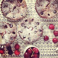 #blueberry #cherries and #ricotta #gratin for breakfast... recipe on air. Good morning