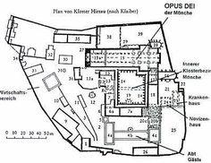 Kloster - Aufbauplan