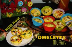 Omelette Muffins  #eggs #easy #food #recipe #muffins #salty #delicious #yummy #omelette #omelet