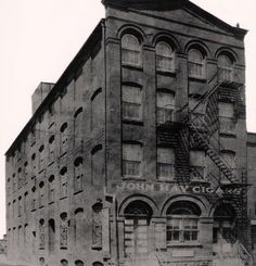 This is the old factory building at 616 N Street, Reading, Berks, PA. The W W Steward & Sons was established in Newmanstown, PA in It moved to Reading in Reading Pennsylvania, John Hay, Reading Pa, Victorian Photos, Old Factory, Main Entrance, Cigars, Sons, Old Things