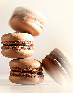#Chocolate Macarons: I get these gluten-free at Moore's Bakery in Vancouver