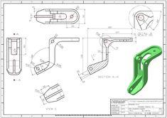 Mechanical Engineering Design, Mechanical Design, Sheet Metal Drawing, Autocad Inventor, Sheet Metal Shop, Autocad Isometric Drawing, Solidworks Tutorial, Drill Bit Sizes, Sheet Metal Fabrication