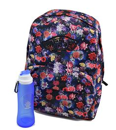 Vans Realm Backpack Bundle With RolBot Water Bottle ** Continue to the product at the image link.