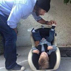 Jared & Thomas Padalecki awwww <3 <3 BUT why Thomas is upside down? LOL