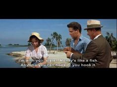 ♡♥Elvis Presley catches a fish in 'Follow that Dream' in 1962♥♡
