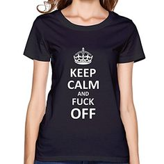This is what has been missing in the Keep Calm Craze. Nothing can come after this Keep Calm and F*ck Off T-Shirt. Tee Shirts, Tees, Nice Tops, Keep Calm, Things That Bounce, T Shirts For Women, Stylish, Mens Tops, Clothes