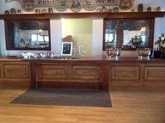 Bar Set-up inside of Henkel Hall