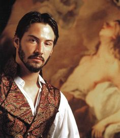 """Much Ado About Nothing (1993) Starring: Keanu Reeves as Don John. – """"I cannot hide what I am: I must be sad when I have cause and smile at no man's jests, eat when I have stomach and wait for no man's leisure, sleep when I am drowsy and tend on no man's business, laugh when I am merry and claw no man in his humor."""" ~ Don John"""